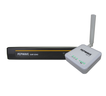 Peplink famiglia SOHO small business router